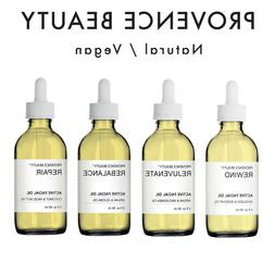 Provence Beauty Pure ACTIVE FACIAL OILS 100% Natural Moistur