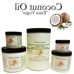 Raw Coconut Oil Extra Virgin Unrefined Organic Pure For Hair