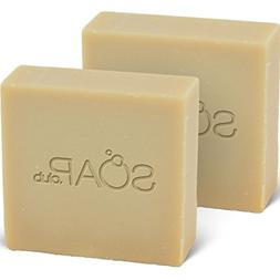 Sandalwood Coconut Oil Soap with Shea Butter 5oz