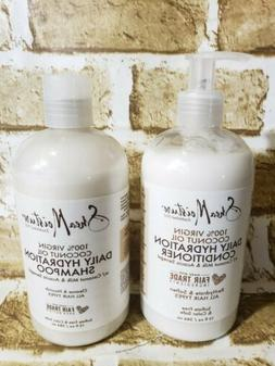 Shea moisture shampoo and conditioner Daily hydration 100% c