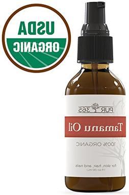 Pur365 Tamanu Oil - Pure Cold Pressed and Unrefined - Best T