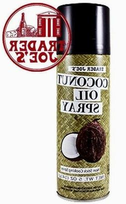 🔥 Trader Joes Coconut Oil Spray 5 oz. each Baking Cooking