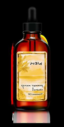 WEN Treatment Oil Summer Mango Coconut 4oz  With Dropper
