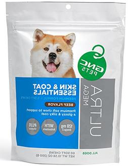 GNC Ultra Mega Skin and Coat Essentials Dog Soft Chew size: