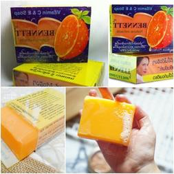 BENNETT VITAMIN C AND E SOAP EXTRACTS FACIAL WHITENING FOR R